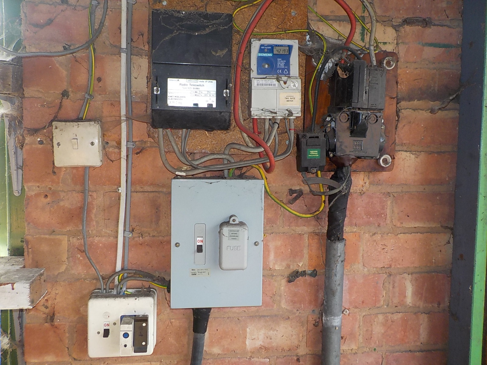 Breaker Fuse Box 1960 Free Download Zinsco Derby Rics Chartered Surveyors Homebuyers Survey Of A 1930 Detached Circuit Replacement At