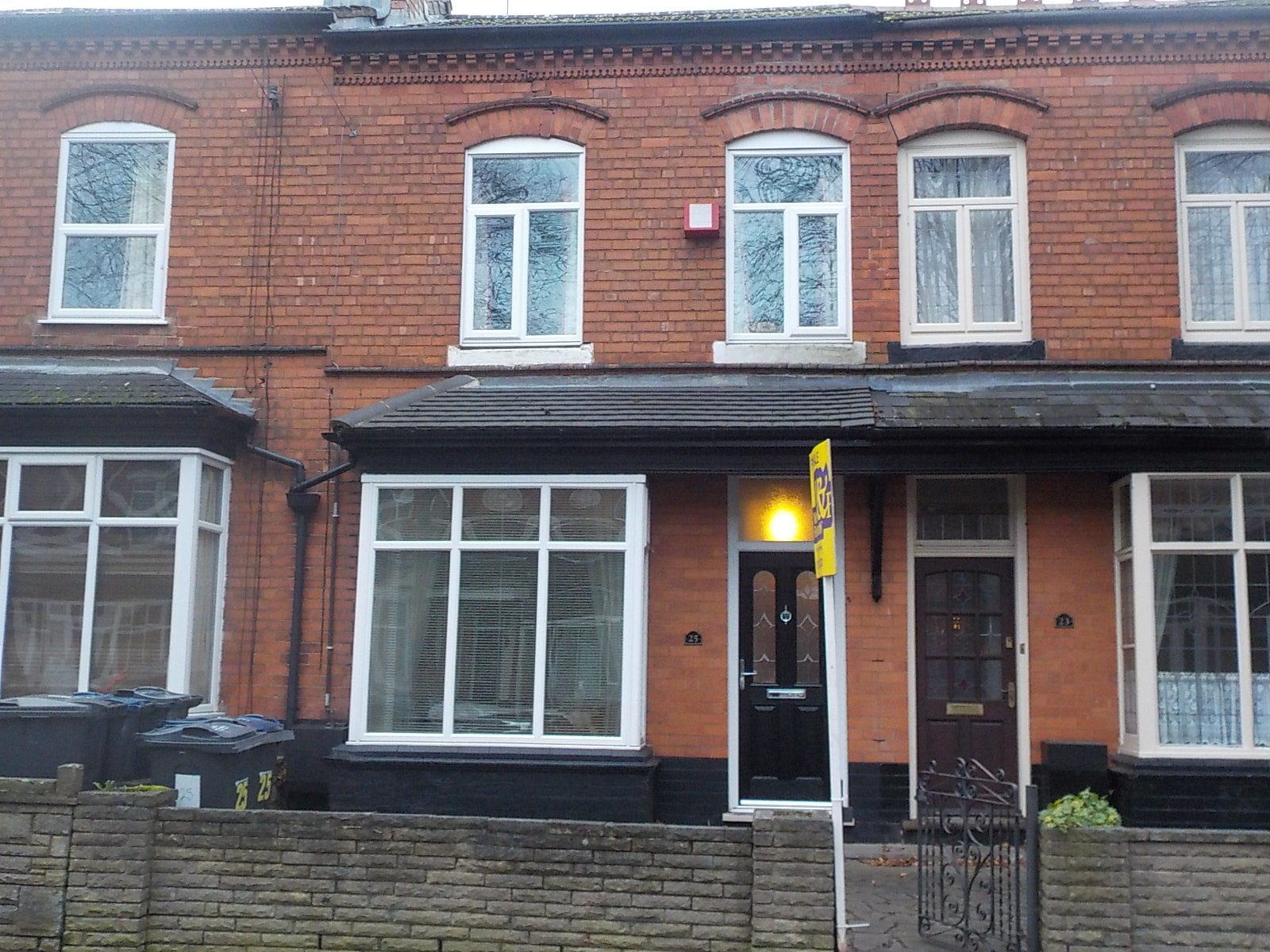 Nottingham surveyors report on a Homebuyers Survey of a Derby Terrace